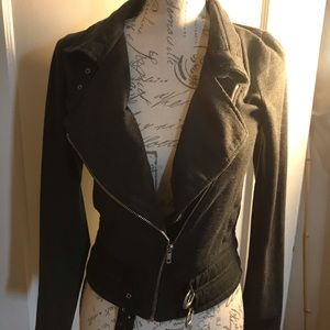Starling Knit Women's Moto jacket